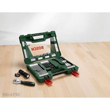 NEW BOSCH 2607017193 83-piece accessory set V83 from JAPAN