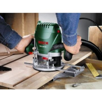 Bosch POF 1200 AE Router With Vacuum Adaptor and Clamping Lever, SDS System