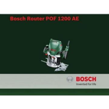 Bosch 060326A170 POF 1200 AE Router