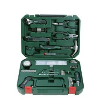 New Heavy Duty Bosch All-in-One Metal 108 Piece Hand Tool Kit | Free Shipping