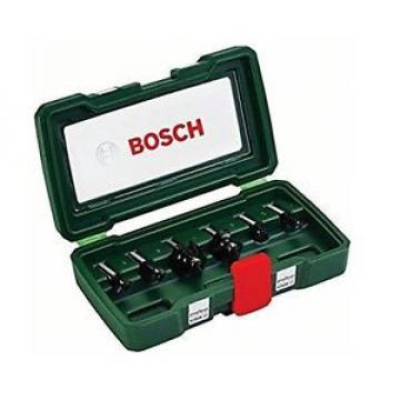 Bosch 2607019463 Set Misto, 6 Frese HM, Gambo 8 mm