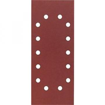 Bosch 2 608 605 245 Carta Abrasiva Forata, Grana 400