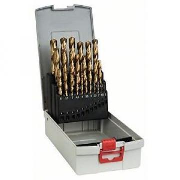 Bosch 2608587019 - Punte per metallo Pro Box HSS-TiN, 25 pezzi