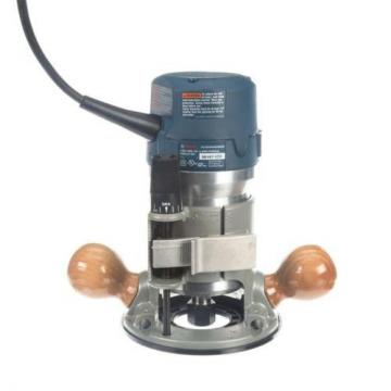 Bosch 12 Amp Corded 3-1/2 in. Variable Plunge and Fixed Base Router Kit w Case
