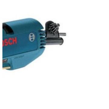 3.8 Amp 3/8 in. Corded Right Angle Drill Specialty Power Tool Keyed Chuck Blue