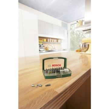 Bosch Screwdriver Bit Set, 32 Pieces - Colour Coded - Universal - With Belt Clip