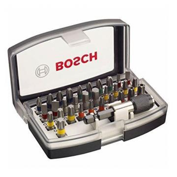 BOSCH 2607017319 Screwdriver Bit Set [Set of 32]