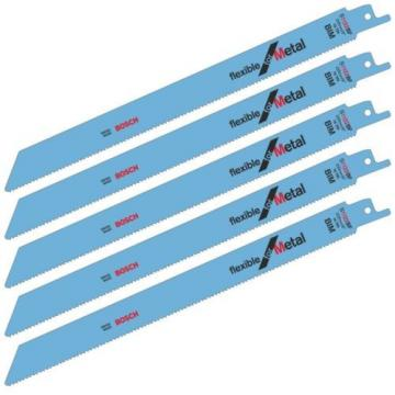 Bosch S1122BF reciprocating saw blades shark sabre metal recipro Pack of 5
