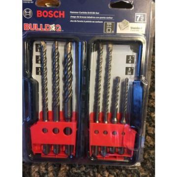 Bosch HCK001 7pc SDS-plus Rotary Hammer Drill Bit Set Masonry Drill Bit Set