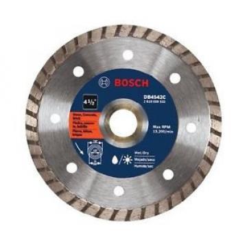 "Bosch DB4542C 4-1/2"" Premium Turbo Rim Diamond Abrasive Blade - 10 PACK!!!"