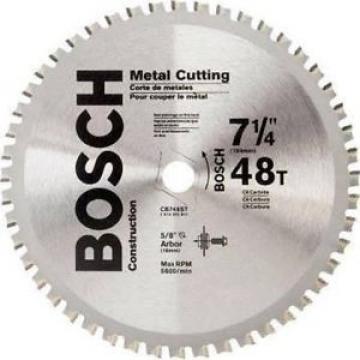 Bosch #CB748ST 48 Teeth 0-Degree Hook Angle Metal Cutting