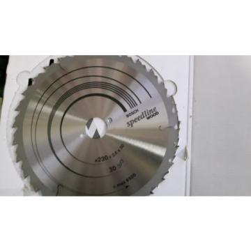 Bosch Speedline Wood Circular Saw Blade - 230 x 2.6 X 30 mm /30 T/ 2608640805