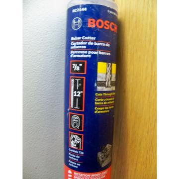 NEW BOSCH RC2144 7/8 X 12 SDS PLUS ROTARY REBAR CUTTER DRILL BIT FREE PRIOTITY