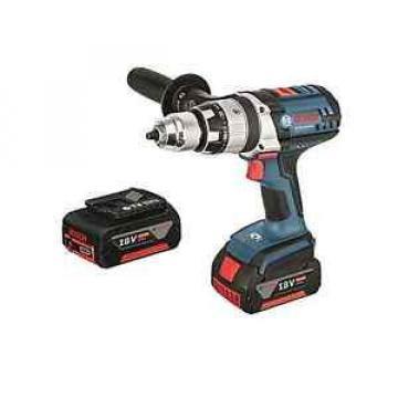Bosch Blue Professional CORDLESS HAMMER DRILL GSB18VE-2-Li-Ionx4.0Ah Batteries