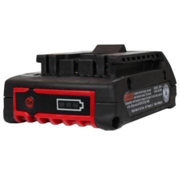 Bosch BAT612 18V Li-Ion Battery 2Ah Fuel Gauge New replaces BAT619 BAT610 BAT611