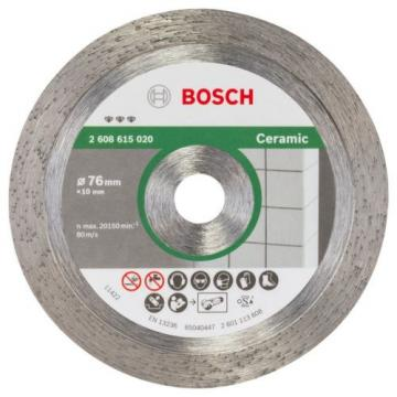Bosch 2608615020Diamond Cutting Disc Best For Ceramic 76mm 1.9mm 10mm NEW