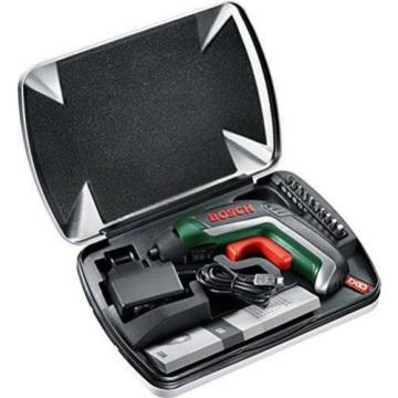 Cordless Screwdriver Bosch IXO Lithium Ion 3.6V Battery Home DIY Power Tool Case