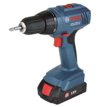 New Cordless Drill Driver GSR 1800-LI Professional Li-ion Bosch 220V.