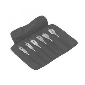 Bosch 2608595425 6 Piece Self Cut Speed Spade Flat Wood Drill Bit Set
