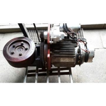 Antrieb, Fahrmotor, Getriebe, Lenkmotor, Bremse, Br. 131 Linde