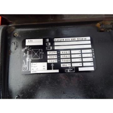 LINDE L16 USED ELECTRIC PALLET FORKLIFT TRUCK. (T00234)