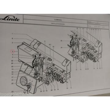 Schaltung Fahrelektronik Impulssteuer Linde Nr. 3903605034 Typ T16/18/20 BR 360