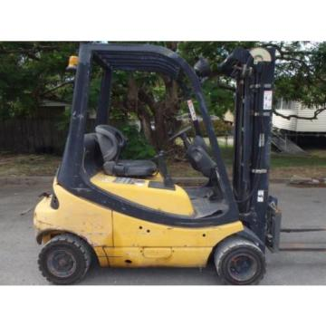 Linde Used Forklift - H20D - 2003  - DIESEL - Compact & Container Mast SIDE SHIF