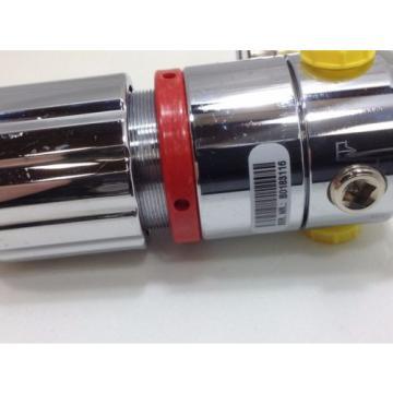 LINDE Gas regulator type RB 200/1 9D single stage 0-125 psi Oxygen compatable #1