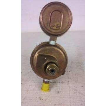 Union Carbide Copr. Brass Gas Regulator Linde Division