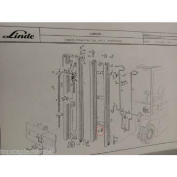 Valvola Sovrapressione Flusso Linde No. 0009442339 Tipo E20/25/30 H20/25/30