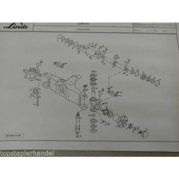 Rodamientos rodillos cónicos 35 x 62 para Eje de dirección Cojinetes Linde