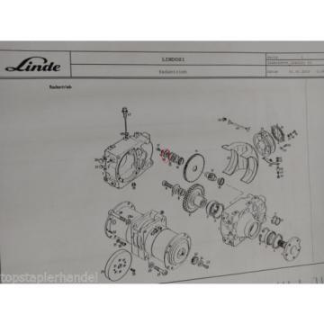 Coperchio Ruote motrici Linde no. 009182042 Tipo E16/12/15/16 H12 BR 322,324,