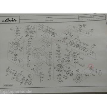 Kegelrollenlager 31,7 x 59 für Lenkachse Lager Linde 0009247397 H20/25/30