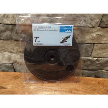 "Linde 7"" X 7/8"" Medalist Fiber Disc Back-Up Pad 11215787 NEW"