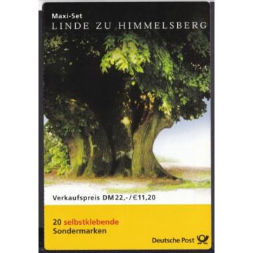 BRD 2001 postfrisch Markenheft MiNr. 45  Linde zu Himmelsberg