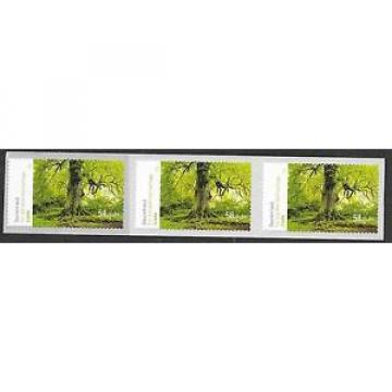 BRD/ Bäume-Linde MiNr 2986 ** SKL Fünferstreifen aus Rolle