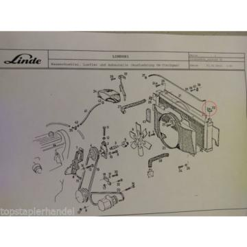 Tappo radiatore Linde 0009184606 H12/15 H20/25/30/35/40 BR 330,331,332