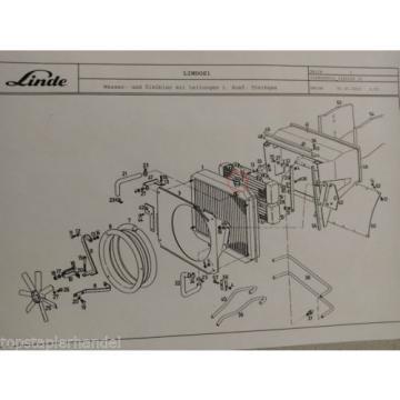 Cubierta de radiador Linde 0009184606 H12/15 H20/25/30/35/40 BR 330,331,332