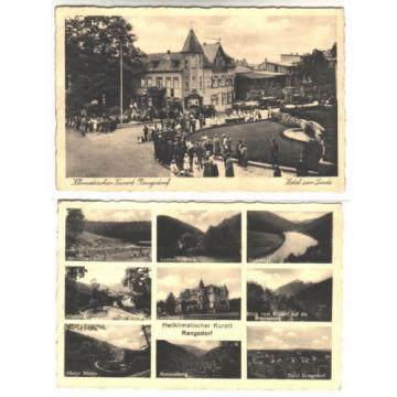 Kr.Neuwied: RENGSDORF AK 1937, Hotel zur Linde revives / MBK (Mill,Beach