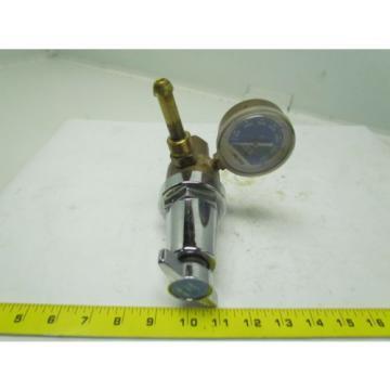 Linde 8504 R-77-75-580 Compressed Gas Regulator w/gauge
