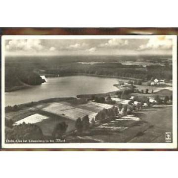 10404061 Loewenberg Niederschlesien Loewenberg Linde-See Fliegeraufnahme x 1940