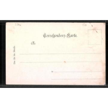 splendide CPA Anningerhaus, Krauste Linde, Wilhelms-Warte, Buchbrunnen
