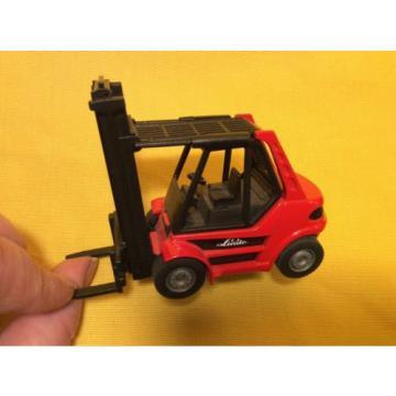 2619 Linde Siku Metall Super 1:50 H 80 Gabelstapler Forklift Truck + 2 Paletten
