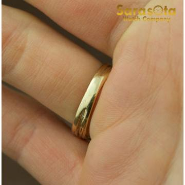 14K Yellow Gold Pink Linde Star Gem Solitaire Women's Ring Size 6