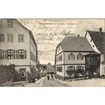 Ak Neuenstadt an der Linde, Wohnviertel in der Hauptstraße, Paul... - 1257661