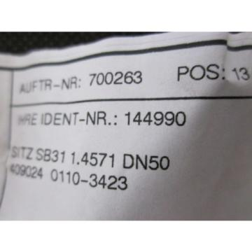 LINDE 144990 SEAT FOR ST.I KVS-14.5 FOR PV 2662