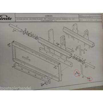 Ghiandola per Traslatore Cilindro di brandeggio Linde 9721001308 molti Modello