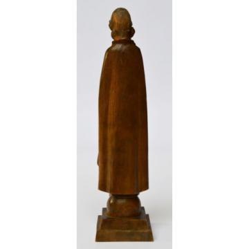 Skulptur Holz Linde handgeschnitzt betende Madonna Maria Muttergottes Höhe 21 cm