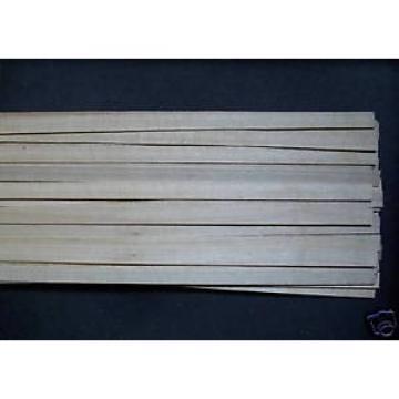 20 Holzleisten Linde 1000x10x0,7