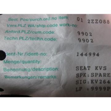 LINDE 144994 SEAT KVS 16 FOR KV 2645/46